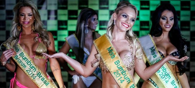 Banner para 16 fatos que mostram que o Miss Bumbum é o melhor concurso de Miss do Mundo!