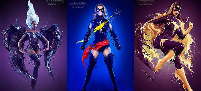 Banner para Splash Heroes - As fantásticas heroínas de Jaroslav Wieczorkiewicz