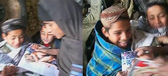 Banner para Jovens afegãos vendo mulher pelada pela primeira vez