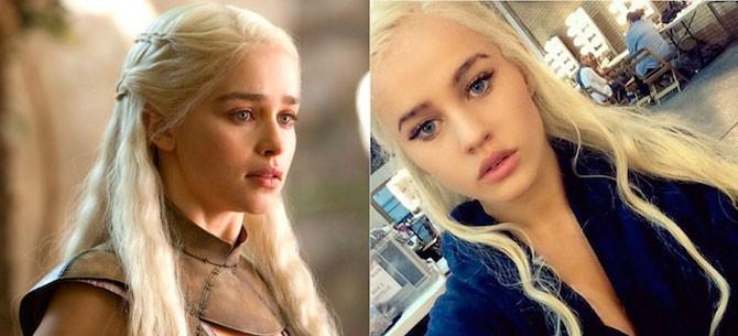 """Banner para Rosie Mac: A beldade que serve de dublê de corpo para """"Daenerys Targaryen"""" em Game of Thrones"""