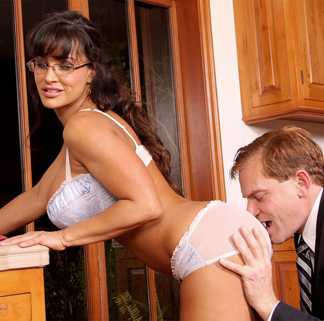 Chubby mature seduces young