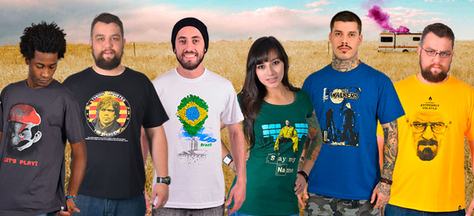 Banner para Camisetas NSFW! com até 40% de desconto em todo o site