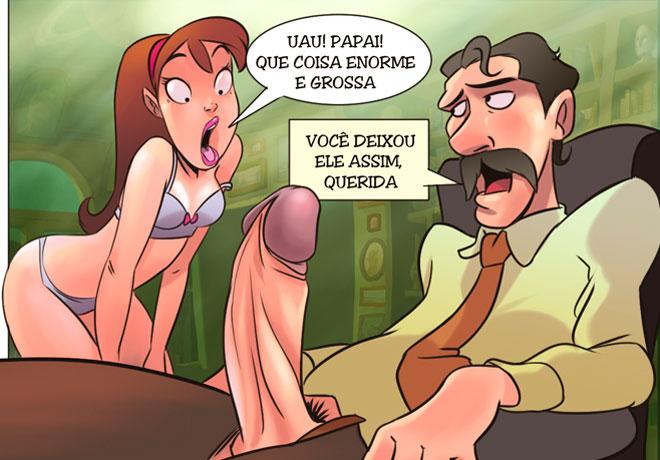 quadrinhos porn