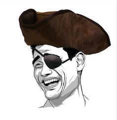 meme pirata