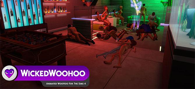 Banner para WickedWoohoo: Transforme o game 'Sims 4' em um jogo de putaria hardcore